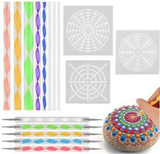 16X Dotting Tools Decoration Professional Home Crafts Reusable Mandala Acrylic