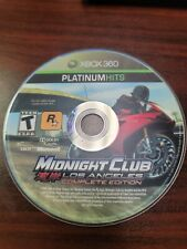 Midnight Club Los Angeles Complete Edition (Microsoft XBOX 360) - DISC ONLY