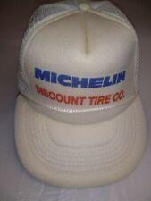 Vintage Hazelwood Michelin Discount Tire Co. Trucker Snapback Advertising Hat