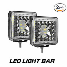2 x 4inch CREE LED Work Light  Spot Flood Reverse Offroad 4x4 super bright