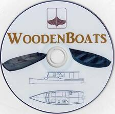Wooden Boats 40+ Videos & 30+ Magazines History Construction Home Projects DVD
