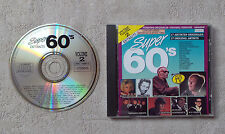 "CD AUDIO/ VARIOUS ""SUPER 60'S SIXTIES VOLUME 2 EXTRAITS"" CD COMPILATION 17T 1989"