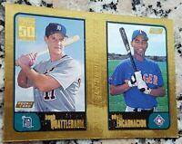 EDWIN ENCARNACION 2001 Topps GOLD SP Rookie Card RC HOT 617/2001 Yankees 401 HR