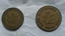 Bank Deutscher Länder 10 Pfennig , 5 Pfennig 1949 Münze