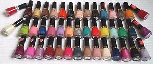 REVLON***Nail Enamel***CHOOSE YOUR COLOR~~~0.5 fl oz/14.7 mL~~~BRAND NEW