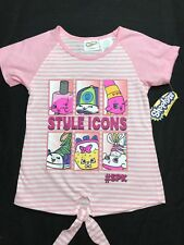 Shopkins Girls t-shirt with Style Icons on front