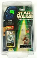 Hasbro Yoda Star Wars Power of the Force Flash Back Action Figure 1998 Sealed
