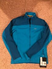 Men's ARC'TERYX Endorphin Stradium Jacket MEDIUM Adriatic Blue NWT