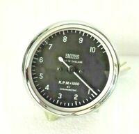 Smiths Tachometer 10,000 rpm 80 mm fitment M12x1 thread Replica 4 :1