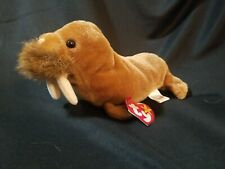 Ty Beanie Baby Paul the Walrus Dob February 23, 1999