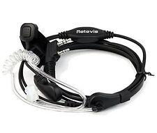 Retevis Throat Radio Communication Headsets & Earpieces