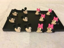DecoPac Disney Mickey Minnie Rings Cupcakes Decoration Toppers Pick 12pcs Kit