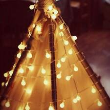 10M Fairy 100LED String Lights Christmas Round Ball Blubs Wedding Party Lamp