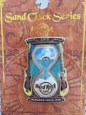 2017 HARD ROCK CAFE NIAGARA FALLS, USA SAND CLOCK SERIES/THE FALLS LE PIN