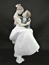 "LLADRO WEDDING FIGURINE ""THE HAPPIEST DAY"" RETIRED RARE & LARGE 10 3/4"" #8029"