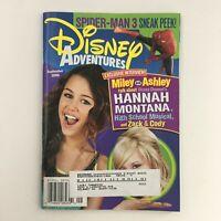 Disney Adventures Magazine September 2006 Miley Cyrus & Ashley Tisdale, VG