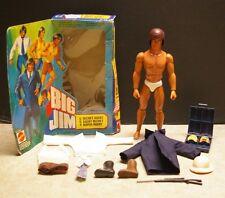 RARE 1980 MATTEL 'BIG JIM 004 SECRET AGENT' ACTION FIGURE NO. 3248 EURO WITH BOX