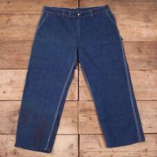 "Mens Vintage OshKosh B'Gosh Blue Sanforized Denim Jeans Talon 42"" x 29"" XR 8309"