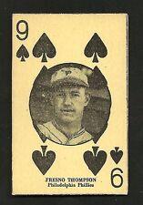 1927 W560 FRESNO THOMPSON Baseball Card ~ Philadelphia Phillies