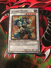Yugioh X-Saber Wayne 5DS3-EN042 1st Super Rare NM