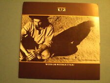 U2  WITH OR WITHOUT YOU  1987 ISLAND RECORDS  FIRST ISSUE USA