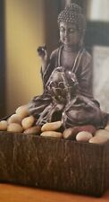 Decorative Tabletop Zen Buddha Water Fountain