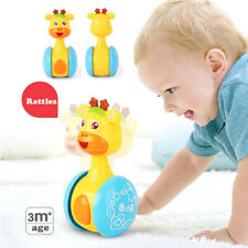 Baby Rattles Tumbler Doll Baby Sweet Bell Music Roly-poly Learning Education Toy