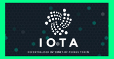 10,000,000 IOTA (Internet Of Things) Crypto Coins 10Mi (10MILLION IOTA)