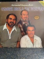 Country 2-Disc Lp Osborne Bros. & Mac Wiseman The Essential Bluegrass Album On C