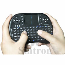 Mini i8 Wireless Touchpad Keyboard Fly Air Mouse Black for Raspberry Pi 2,B, B+