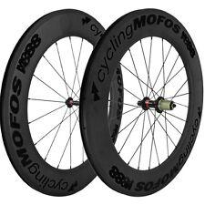 cyclingMOFOS MOFO88 Full Carbon Fiber Clincher Wheelset 88x25mm Shimano/SRAM NEW
