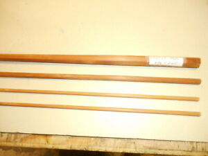 Vintage Gene Edwards bamboo fly rod building blank. 8-1/2' - 3pc.- swelled butt.
