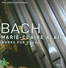 NEW Bach: Complete Organ Works (Audio CD)