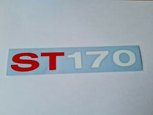 ST170 SIDE MOULDING STICKER DECAL X2