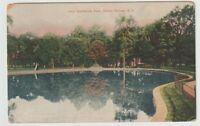 1909 Postmarked Postcard Lake Sanitarium Park Clifton Springs New York NY