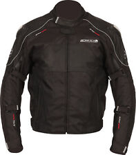 Buffalo Atom Waterproof Thermal Motorbike/Motorcycle Jacket - Black