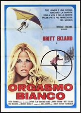 Orgasme Blanc Manifesto Cinéma Sexy 1974 The Ultimate Thrill Movie Poster 2F