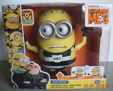 Despicable Me 3 Deluxe Talking Jail Time Tom -NEW