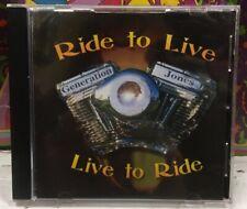 Generation Jones Live To Ride CD