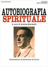 LIBRO AUTOBIOGRAFIA SPIRITUALE - JULIUS EVOLA