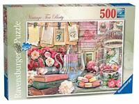 Ravensburger Vintage Tea Party 500 Piece Jigsaw Puzzle