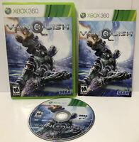Vanquish (Microsoft Xbox 360) GAME COMPLETE ! CIB ! 3RD PERSON SCI-FI SHOOTER 🔥