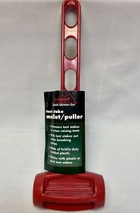 Texsport 15066 Heavy Duty Tent Stake Mallet, Plastic