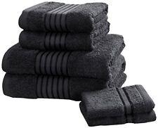 Rapport Windsor–Set di asciugamani, 100% cotone–nero (N3Z)