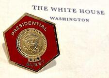 Rare US Secret Service Presidential Guest Visit Pin Richard Nixon