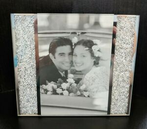 """Swarovski Starlet Picture Frame 5""""x6"""" – In original box"""