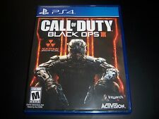 Replacement Case (NO GAME) CALL OF DUTY BLACK OPS III 3 PlayStation 4 PS4 Box