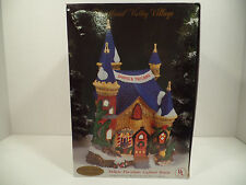 """Collectable Heartland Valley Village hand painted """"Santa's Toyland"""" Porcelain"""