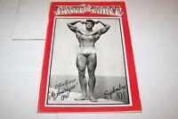 SEPT 1947 SANTE ET FORCE bodybuilding magazine S REEVES