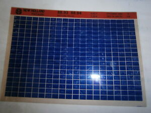 Landini R-DT 6840 : catalogue de pièces - 1 MICROFICHE 01-1986